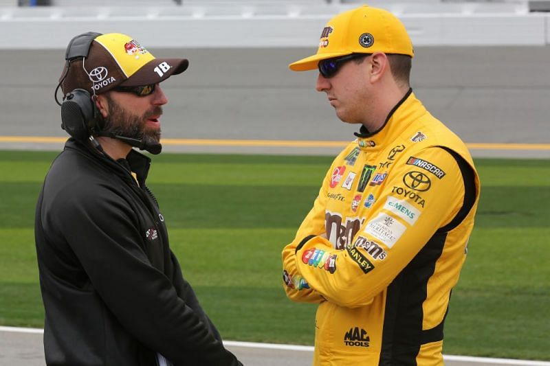Kyle Busch, enters 2021 with a new crew chief. Photo: Getty Images