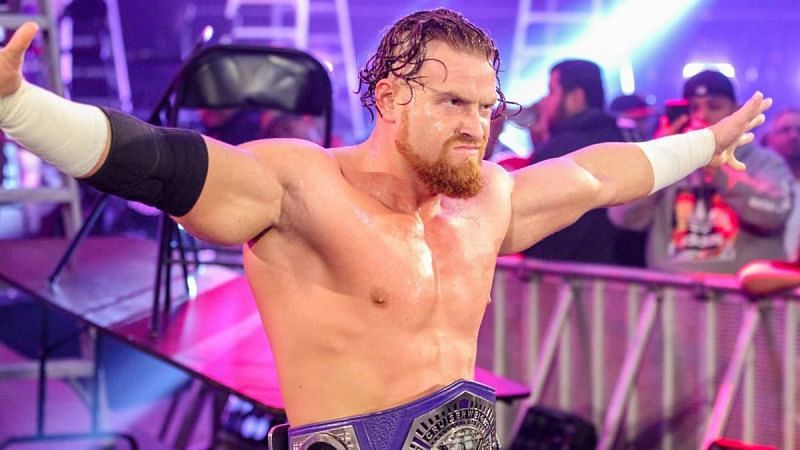 Buddy Murphy performed well as the WWE Cruiserweight Champion