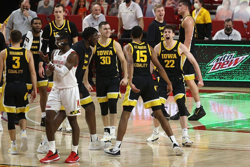 The Iowa Hawkeyes carry a 15-6 record into this matchup