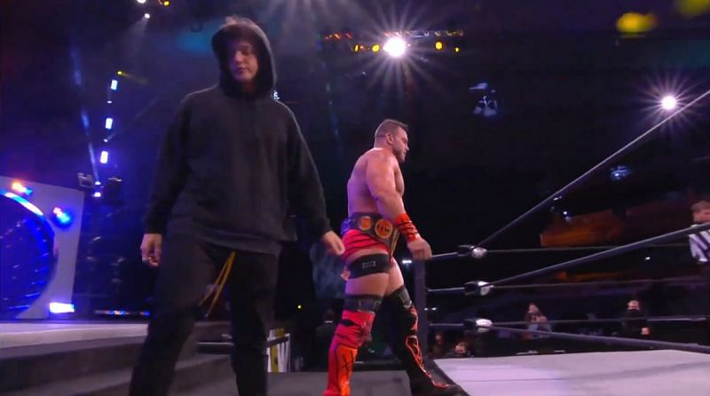 Brian Cage and Hook.