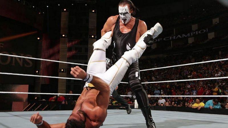 Seth Rollins and Sting