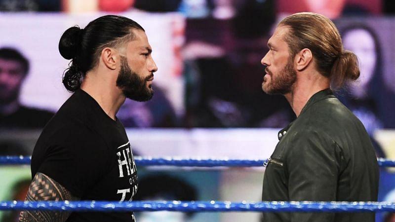 WWE WrestleMania 37 में होगा ऐज VS रोमन रेंस