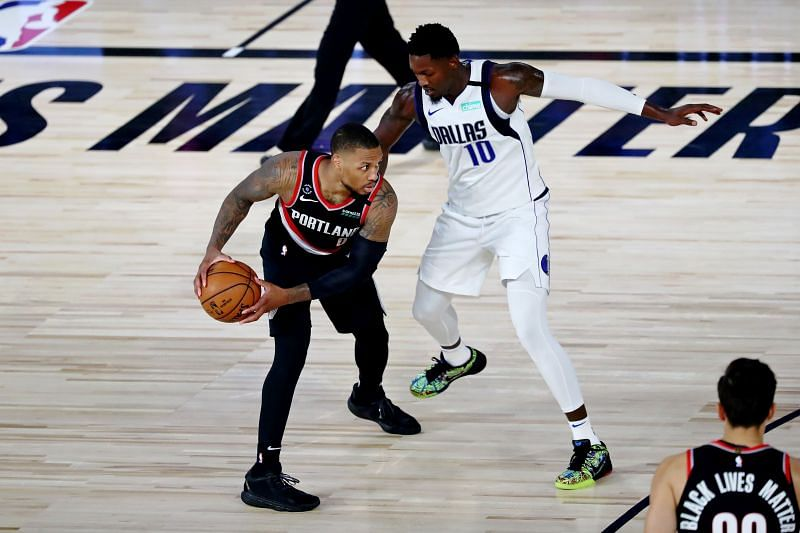Damian Lillard and Luka Doncic will battle in this enticing fixture featuring the Dallas Mavericks and the visiting Portland Trail Blazers