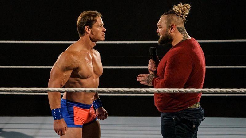 John Cena lost a Firefly Fun House match against Bray Wyatt at WrestleMania 36