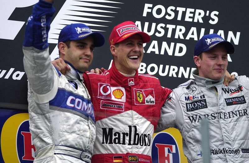 Michael Schumacher was the gold standard of driving in Formula 1 throughout his career.
