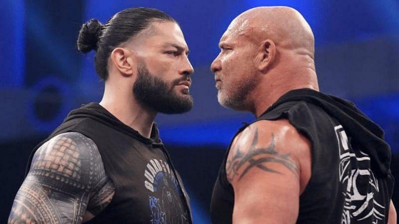 Goldberg wrestled in a match at WWE Royal Rumble 2021