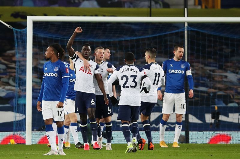 Tottenham Hotspur attacked with more verve than in recent weeks.