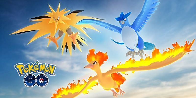 Niantic recently announced that Articuno, Zapdos, and Moltres will cap off Pokémon GO's Kanto festivities (Image via Niantic)