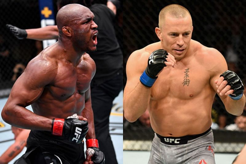Kamaru Usman has spoken about a potential fight with GSP.