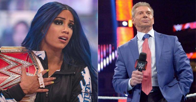 Sasha Banks; Vince McMahon