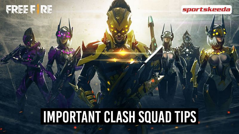 Tips to win the Clash Squad mode in Free Fire