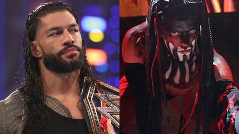 WWE यूनिवर्सल चैंपियन रोमन रेंस और डीमन किंग फिन बैलर