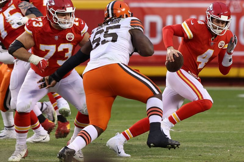 Cleveland Browns are looking to upgrade their front seven