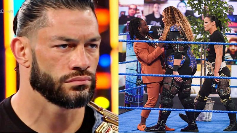 This was the final episode of SmackDown before Elimination Chamber 2021.