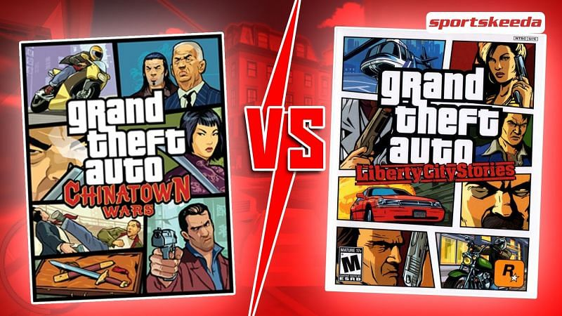GTA Chinatown Wars vs GTA Liberty City Stories