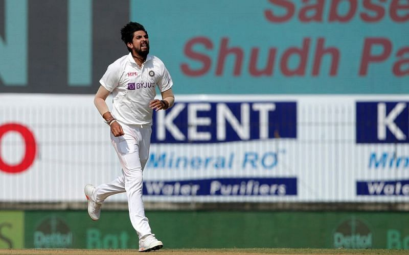 Ishant Sharma became the third Indian pacer to pick up 300 Test wickets