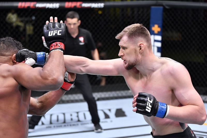 Alexander Volkov would be a good outside bet to take the next UFC Heavyweight title shot.