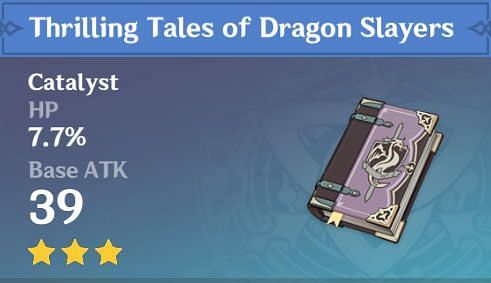 Thrilling Tales of Dragon Slayers (Image via Gensh in)