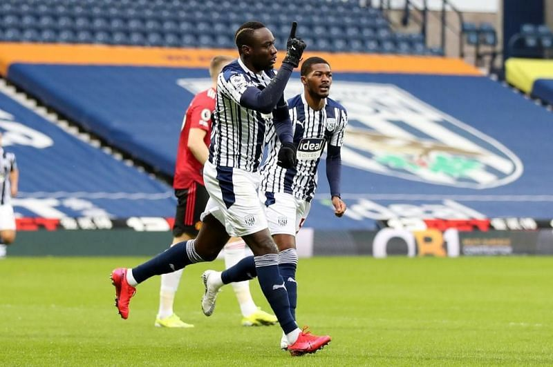 Mbaye Diagne fired West Brom ahead after only 83 seconds into the game.