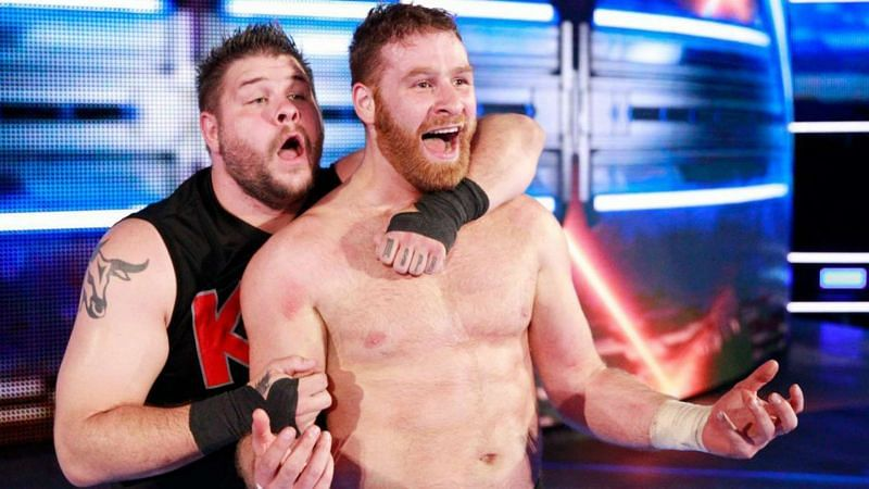 Kevin Owens and Sami Zayn teamed together in WWE from 2017 to 2019
