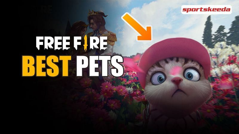 There are a number of pets that players can choose from in Garena Free Fire (Image via Sportskeeda)