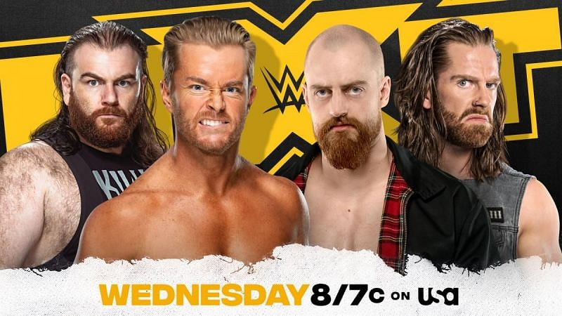 WWE NXT adds a tag match to tomorrow