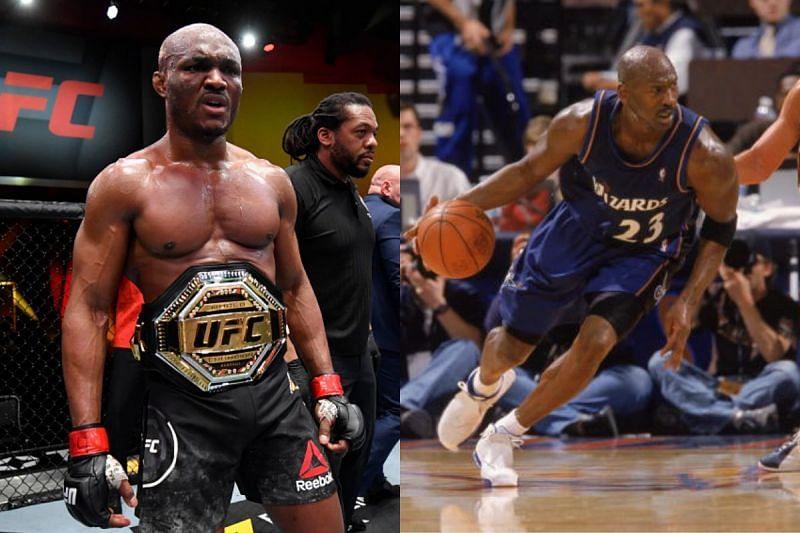 Kamaru Usman and Michael Jordan.