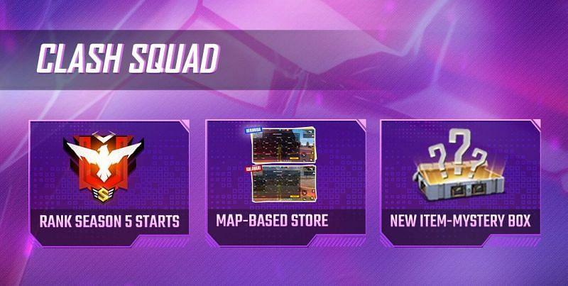 Changes in the Clash Squad mode (Image via ff.garena.com)