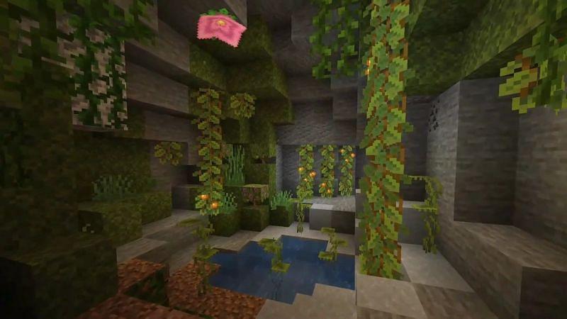 Minecraft Lush Caves