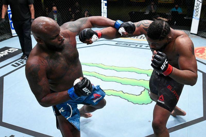 Derrick Lewis defeated Curtis Blaydes at UFC Vegas 19