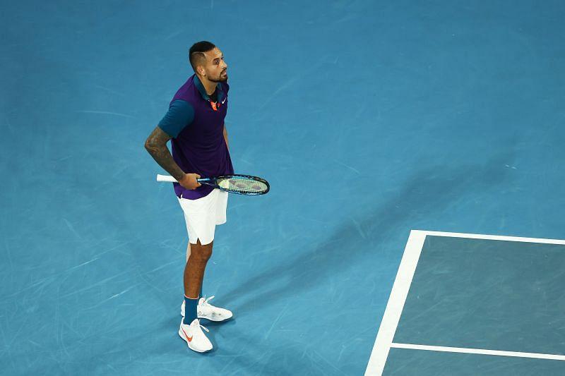 Novak Djokovic has never defeated Nick Kyrgios