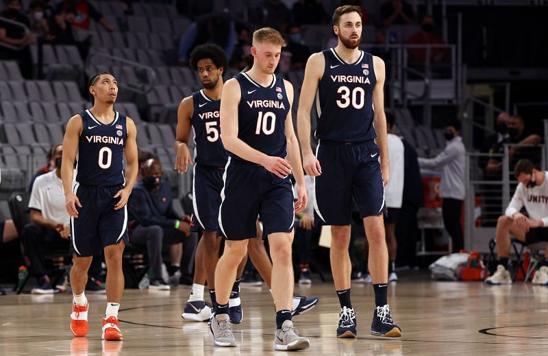 The Virginia Cavaliers hold the top spot in the ACC standings