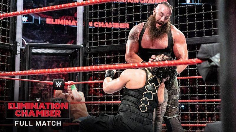 ब्रॉन स्ट्रोमैन ने Elimination Chamber मैच में काफी दमदार प्रदर्शन किया था
