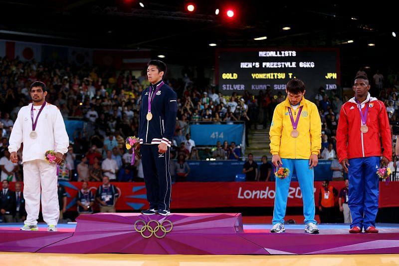 Sushil Kumar- Olympic Silver Medalist