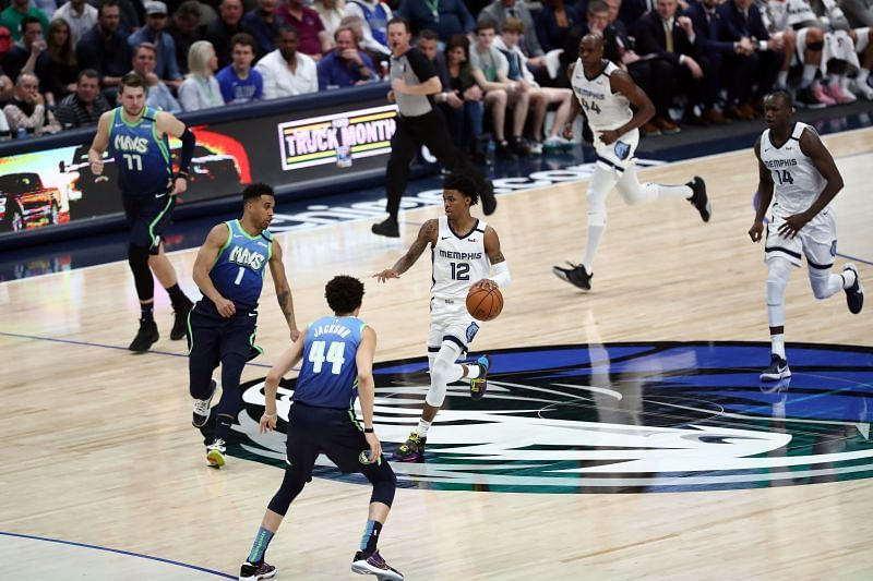 Memphis Grizzlies vs Dallas Mavericks