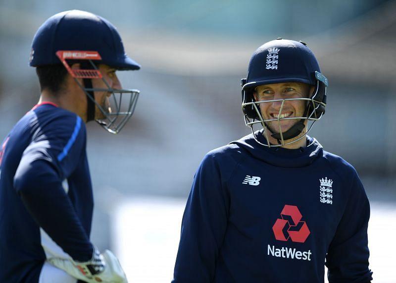 Alastair Cook (left) scored 562 runs during England