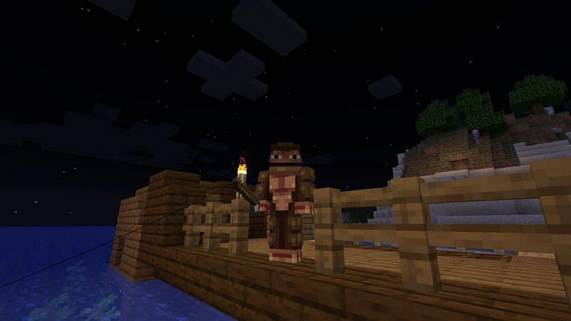 Monke like fish (Image via Minecraft)