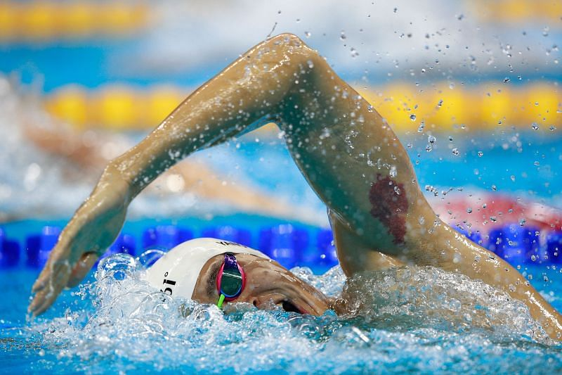 Sun Yang is the first Chinese swimmer to win Olympic gold