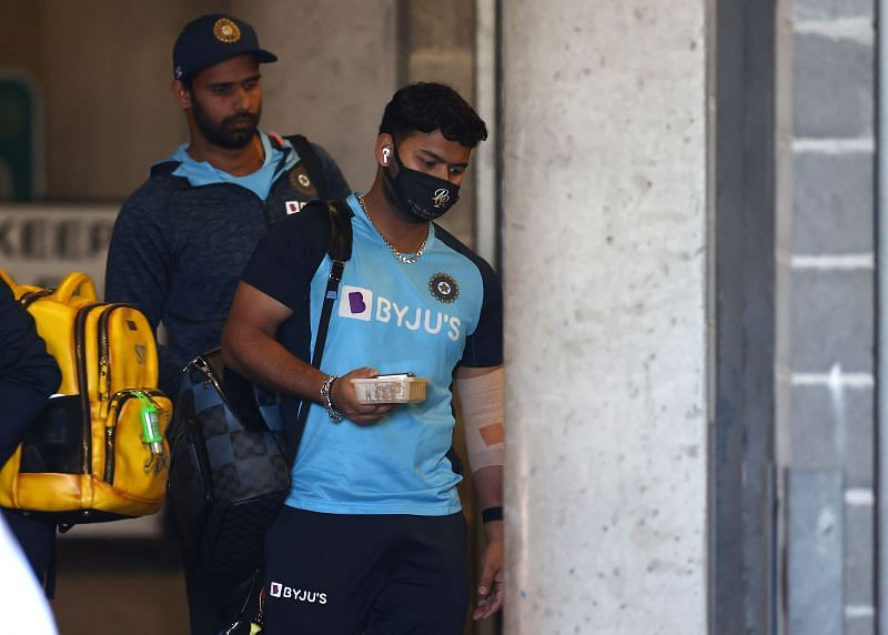 Pant did not play the 1st Test against Australia