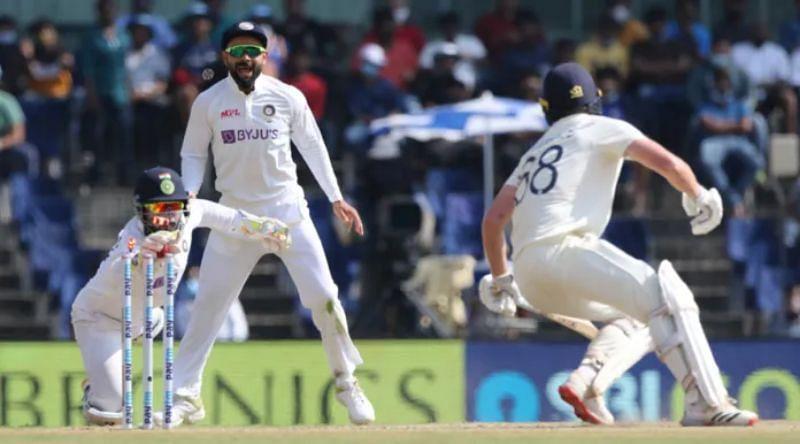 Rishabh Pant in action