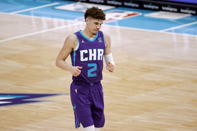 LaMelo Ball #2 of the Charlotte Hornets