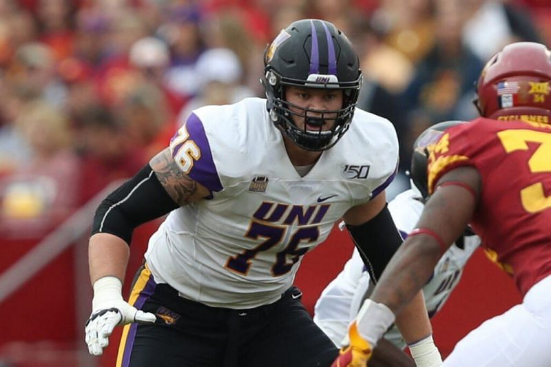 Northern Iowa OT Spencer Brown