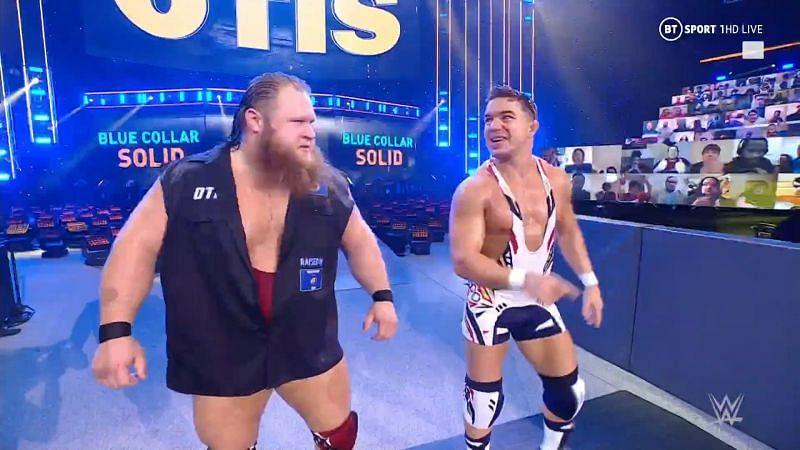 Otis and Chad Gable