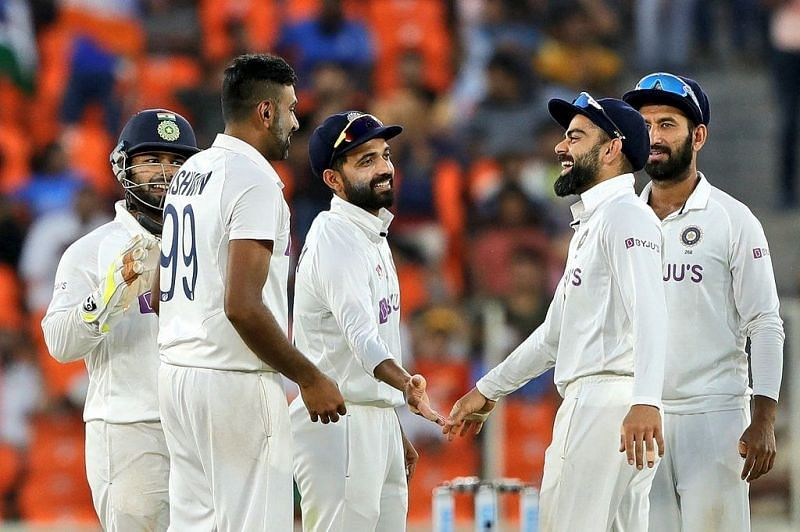 Team India beat England by 10 wickets in Ahmedabad
