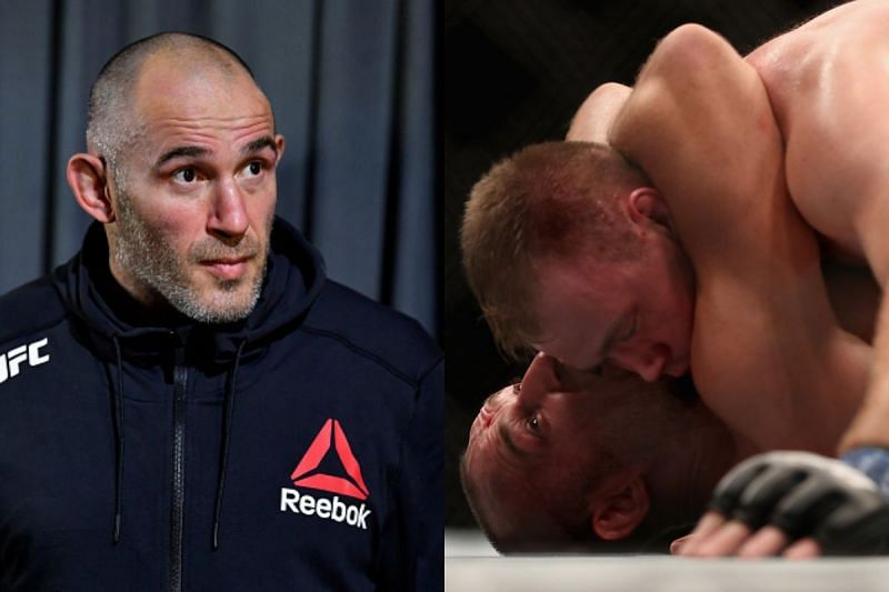 Is Aleksei Oleinik the only fighter to have secured the Ezekiel choke in the UFC?