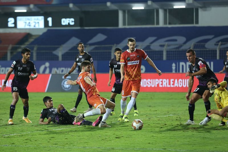 Ivan Gonzalez scored a goal and bagged an assist for FC Goa against Odisha FC (Image Courtesy: ISL Media)