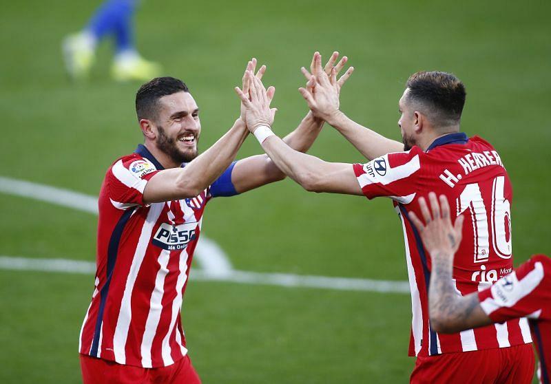 Atletico Madrid play Levante on Wednesday