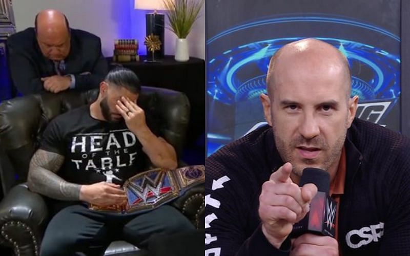 Cesaro should pick a huge victory at Elimination Chamber 2021
