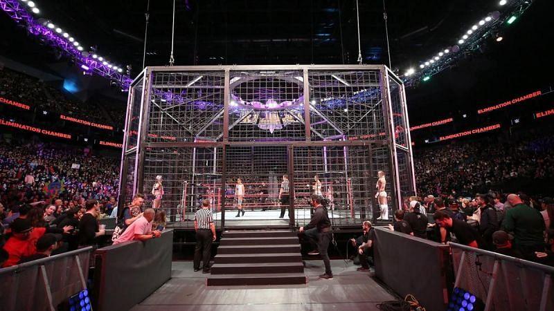 Elimination Chamber मैच