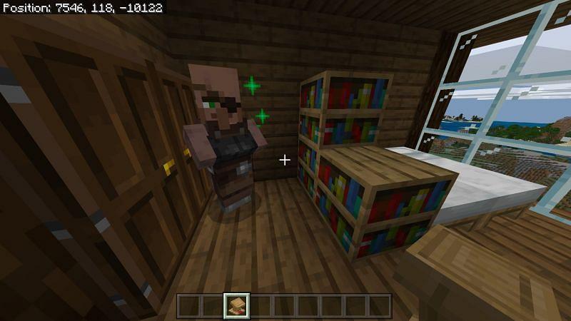 Making a villager Librarian